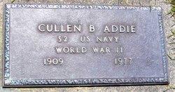 Cullen B Addie