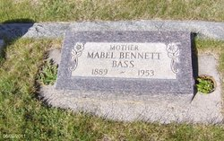 Mabel <i>Bennett</i> Bass