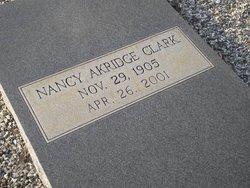 Nancy <i>Akridge</i> Clark