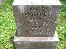 Ava G <i>Grover</i> Ansermet