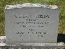 Mary A Sterling