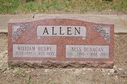 Bess <i>Dunagan</i> Allen