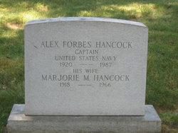 Alex Forbes Hancock