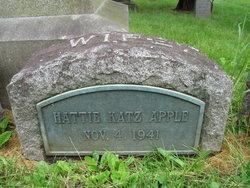 Hattie <i>Katz</i> Apple