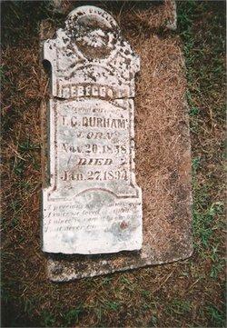 Rebecca Clementine <i>Wheatley</i> Durham