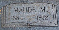 Maude M <i>Robins</i> Pfister
