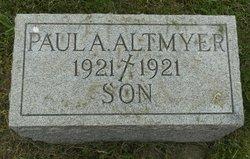 Paul A Altmyer