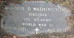 Marquis D Washington, Jr