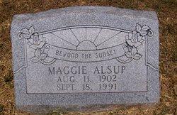 Maggie <i>Bowman</i> Alsup