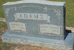 Mary Leona <i>Weeks</i> Adams