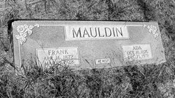 Frances Adeline Ada <i>Williams</i> Warren Mauldin