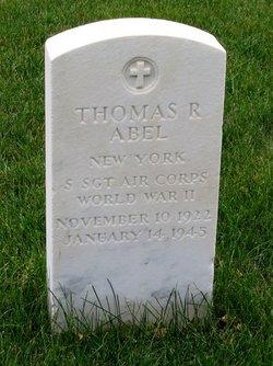 Sgt Thomas R Abel