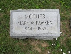 Mary W Fawkes