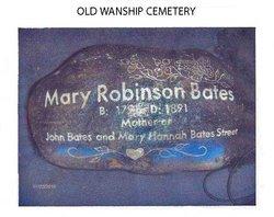 Mary <i>Robinson</i> Bates