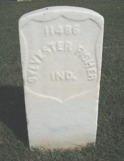 Pvt Sylvester Fisher