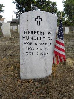 Sgt Herbert Walker Hundley, Sr