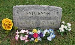 Osa G. Ocie <i>Vanmeter</i> Anderson