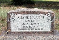 Allyne <i>Mauldin</i> Walker