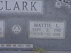Mattie Lee <i>Isgitt</i> Clark