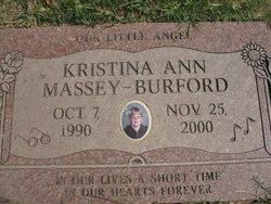 Kristina Ann <i>Massey</i> Burford