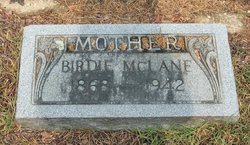 Birdie <i>Deramus</i> McLane