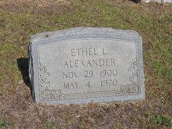 Ethel L Alexander