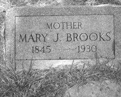 Mary Jane <i>Graham</i> Brooks