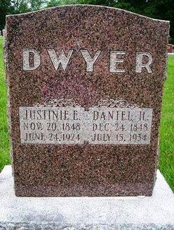 Justine Elliott Justina <i>Cates</i> Dwyer