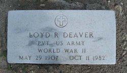 Loyd Robert Deaver