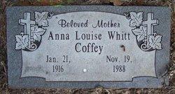 Anna Louise <i>Whitt</i> Coffey