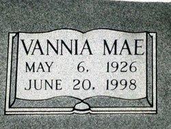 Vannia Mae <i>Tucker</i> Massengill