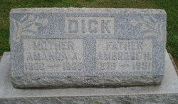 Amanda Alice <i>Baker</i> Dick
