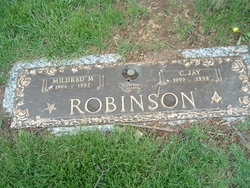 Mildred Maudell <i>Fritz</i> Robinson