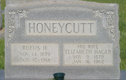 Rufus Houston Honeycutt, Sr