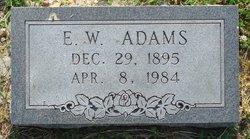 Edward W Adams