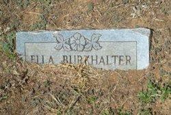 Ella <i>Hurt</i> Burkhalter