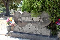 Mary Ann <i>Wachter</i> Legg