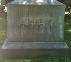 Mary D <i>Dawson</i> Allen