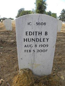 Edith B Hundley