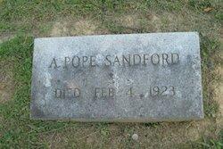 Alford Pope Sandford