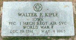 Walter E. Kiple