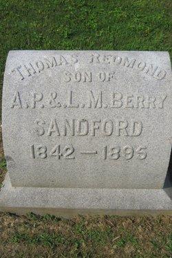 Thomas Redmond Sandford