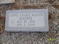 Annie Laurie <i>Keaton</i> Boucher