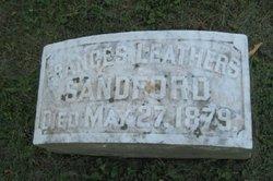 Frances Susan <i>Leathers</i> Sandford