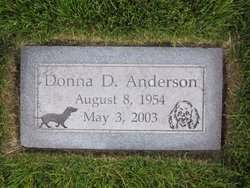 Donna D Anderson