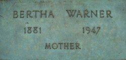 Bertha Warner