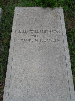 Sally W. <i>Smithson</i> Gosser