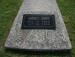 Sarah Ellen <i>Garriott</i> Snapp