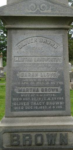 Martha <i>Langworthy</i> Brown