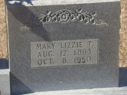 Mary Lizzie <i>Thedford</i> O'Neal